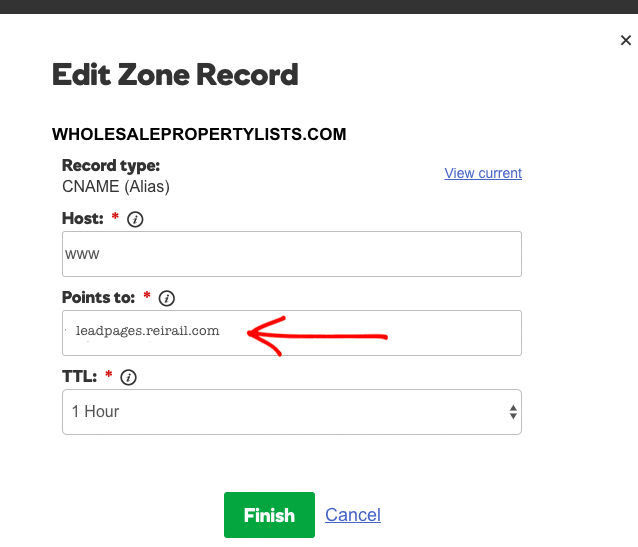 Edit zone-1