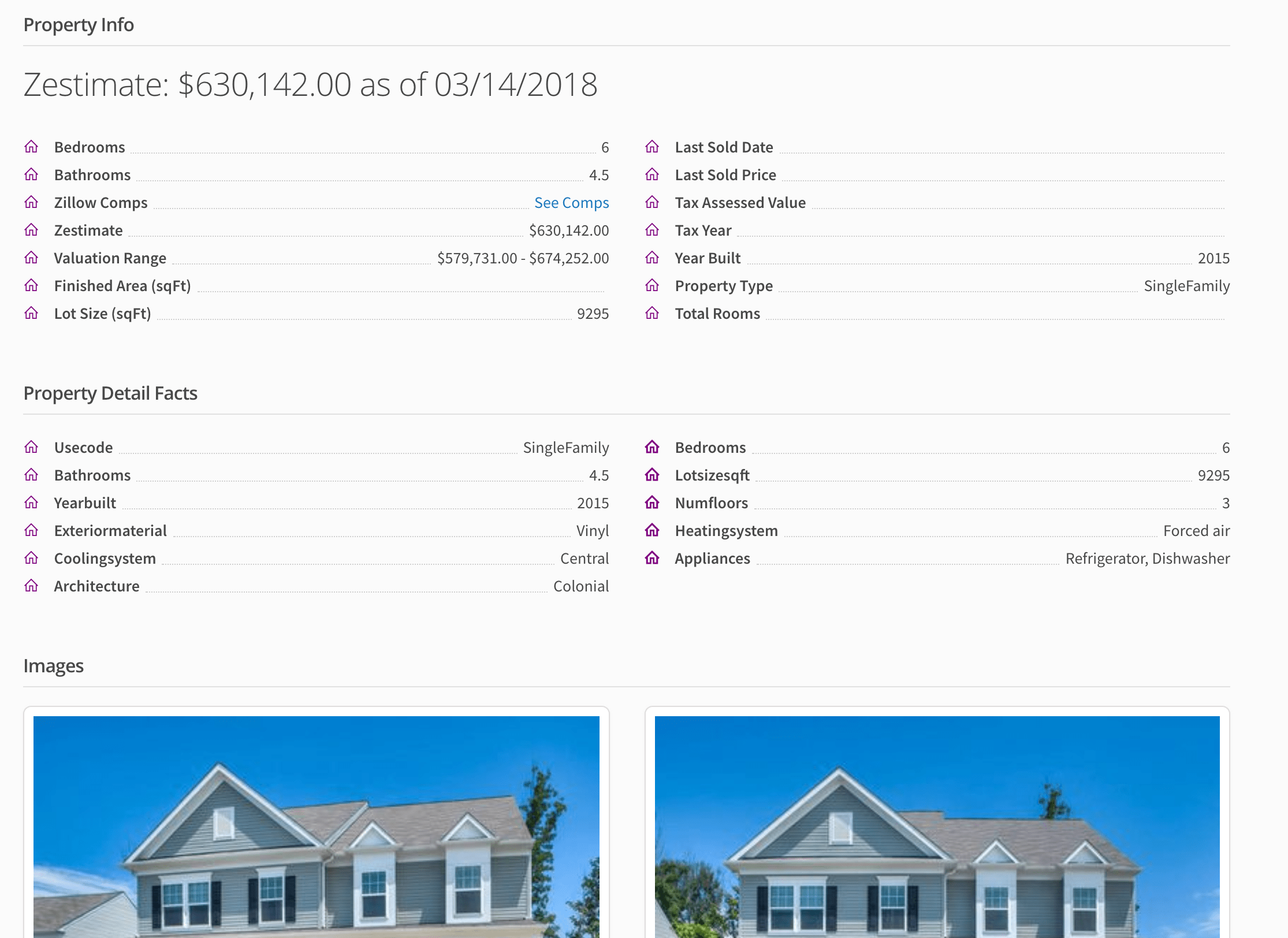 Zillow preview